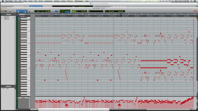 MIDI sequence of Slurpentine Comb