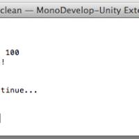 Basic C# Scripting