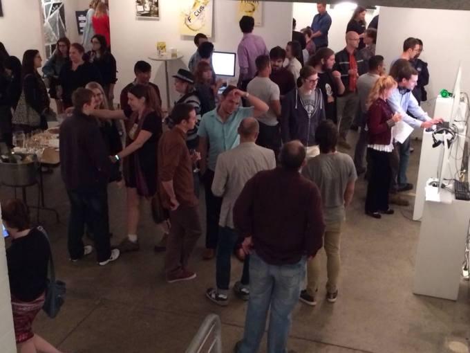 The Gallery In Full Swing