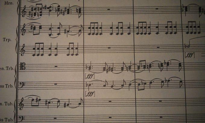 Tenor Trombone line