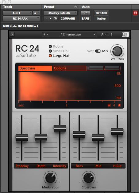 RC24 Reverb