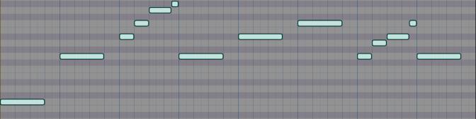 Cello Rhythmic Motif